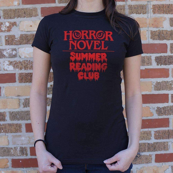 Ladies Horror Novel Summer Reading Club T-Shirt: T-Shirt- Shop MIXXCI