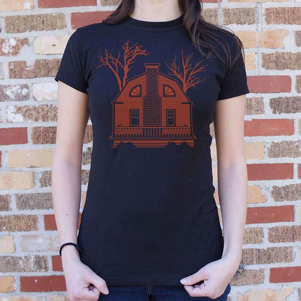 Ladies House Of Horrors T-Shirt: T-Shirt- Shop MIXXCI