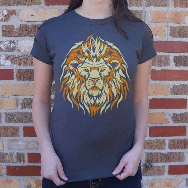 Ladies Lion Spirit T-Shirt: T-Shirt- Shop MIXXCI