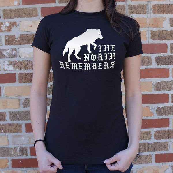 Ladies The North Remembers T-Shirt: T-Shirt- Shop MIXXCI