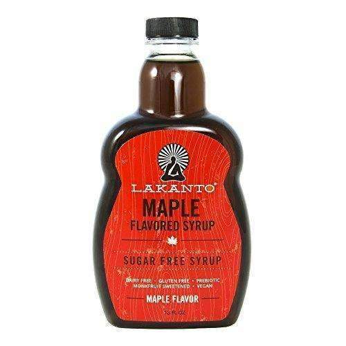 Lakanto Maple Flavored Sugar-Free Syrup, 1 Net Carb (Maple Syrup, 13 Oz): Grocery & Gourmet Food- Shop MIXXCI