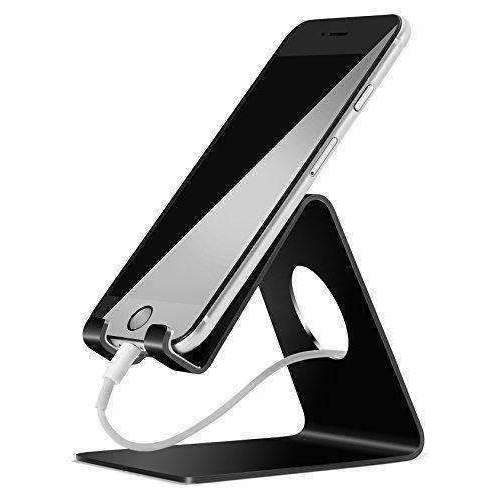 Lamicall Vc-S-Us-B Cell Phone Stand, S1 Dock : Cradle, Holder, Stand For Switch, All Android Smartphone, Iphone 6 6S 7 8 X Plus 5 5S 5C Charging, Accessories Desk - Black: Electronics Accessories & Supplies- Shop MIXXCI