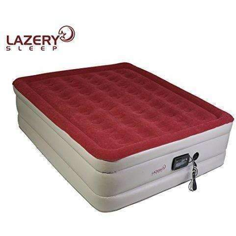 "Lazery Sleep Air Mattress – Raised Electric Airbed With Built In Pump & Carry Bag – Fast Inflation, Led Remote Control & 7 Firmness Settings –Queen 78"" X 58"" X 19"": New- Shop MIXXCI"