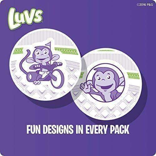 Luvs Ultra Leakguards Disposable Diapers Size 5, 140 Count, One Month Supply: Health & Household- Shop MIXXCI