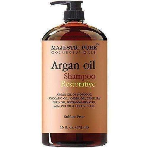 Majestic Pure Argan Oil Shampoo, Offers Vitamin Enriched Gentle Hair Restoration Formula For Daily Use, Sulfate Free, Moroccan Oil & Potent Natural Ingredients, For Men And Women 16 Fl. Oz: Hair Care Products- Shop MIXXCI