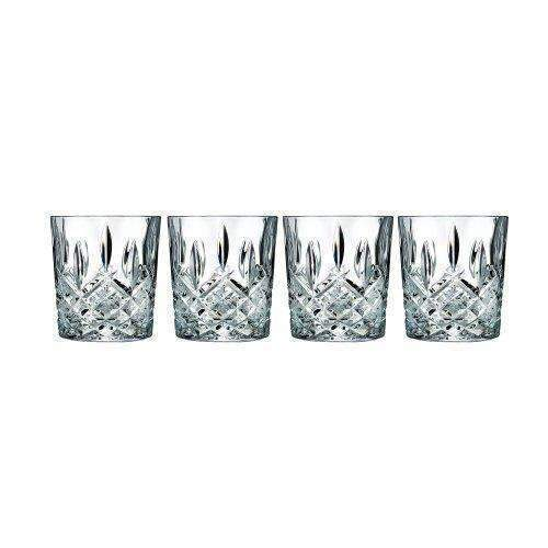 Marquis By Waterford 165118 Markham Double Old Fashioned Glasses, Set Of 4: Barware- Shop MIXXCI