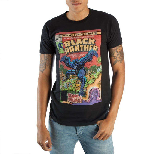 Marvel Black Panther Corrugated Boxed T-Shirt: Boxed T-Shirt- Shop MIXXCI