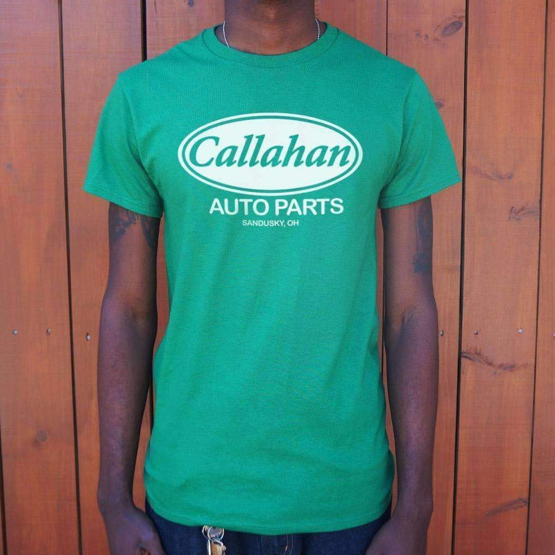 Mens Callahan Auto Parts T-Shirt: T-Shirt- Shop MIXXCI