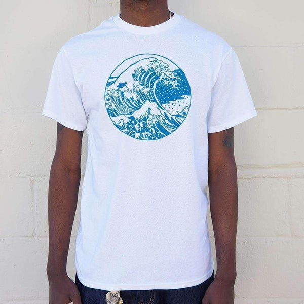 Mens Great Wave T-Shirt: T-Shirt- Shop MIXXCI