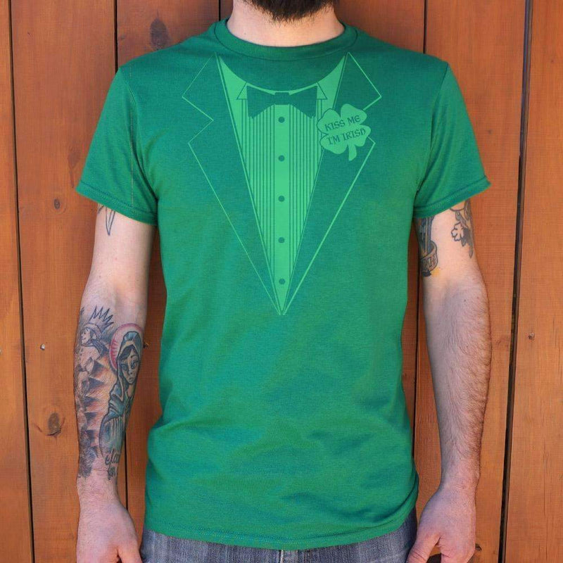 Mens Irish Tuxedo T-Shirt: T-Shirt- Shop MIXXCI