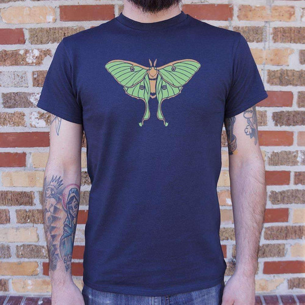 Mens Luna Moth T-Shirt: T-Shirt- Shop MIXXCI