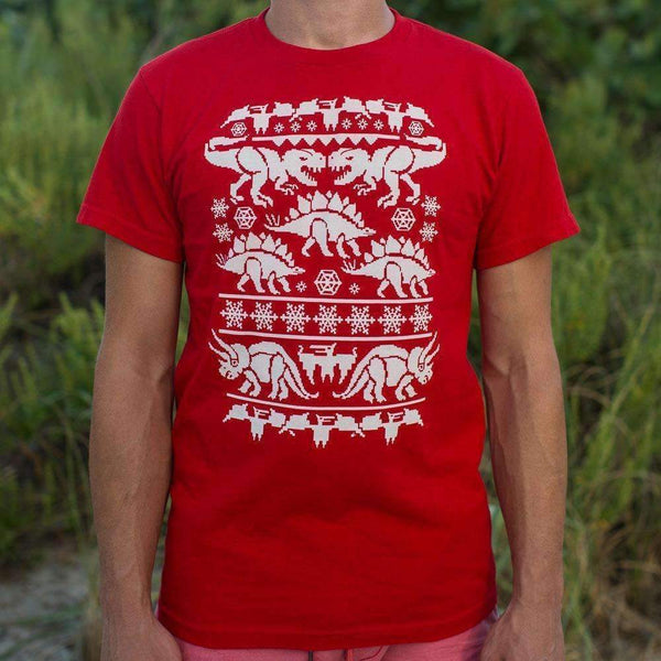 Mens Ugly Dinosaur Sweater T-Shirt: T-Shirt- Shop MIXXCI