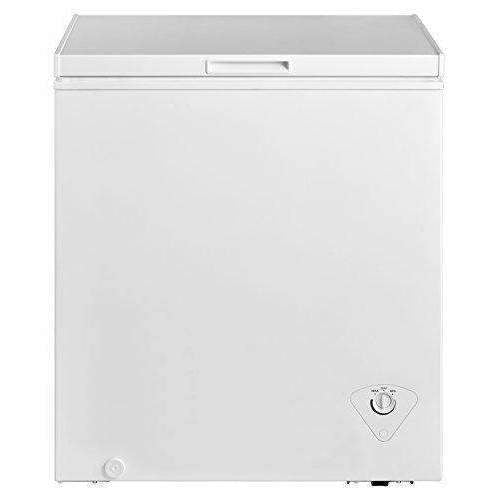Midea Whs-185C1 Single Door Chest Freezer, 5.0 Cubic Feet, White: Appliances- Shop MIXXCI