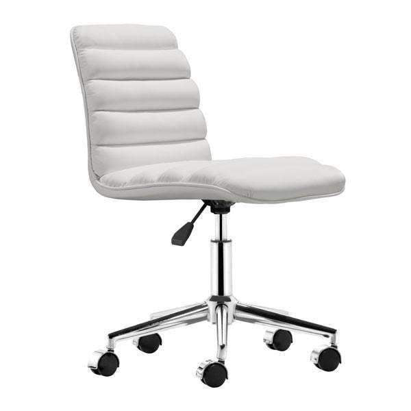 Modern Admire Office Chair White, Default Title: Living Room Furniture- Shop MIXXCI