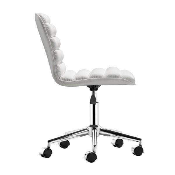 Modern Admire Office Chair White: Living Room Furniture- Shop MIXXCI