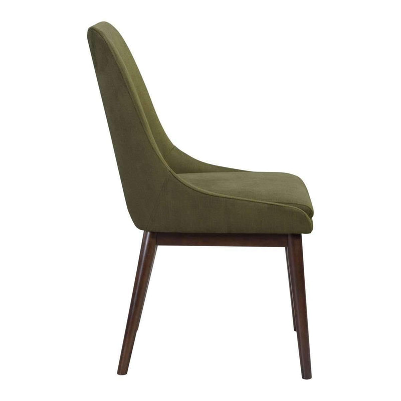 Modern Ashmore Dining Chair Emerald Green (Set of 2): Living Room Furniture- Shop MIXXCI