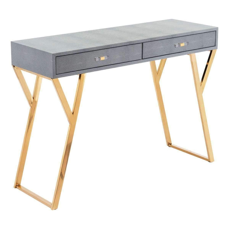 Modern Asti Console Table Gray, Default Title: Living Room Furniture- Shop MIXXCI
