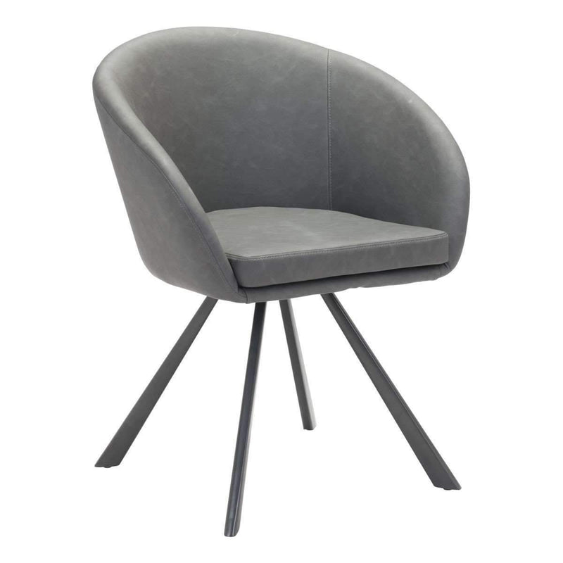 Modern Barisic Dining Chair Gray: Living Room Furniture- Shop MIXXCI