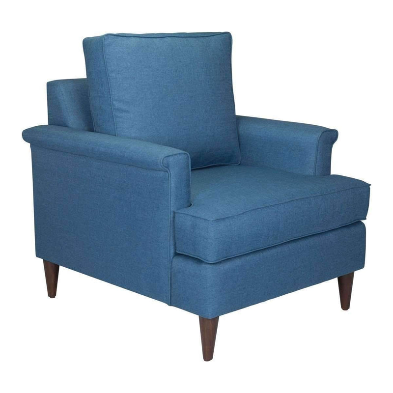 Modern Campbell Arm Chair Blue, Default Title: Living Room Furniture- Shop MIXXCI