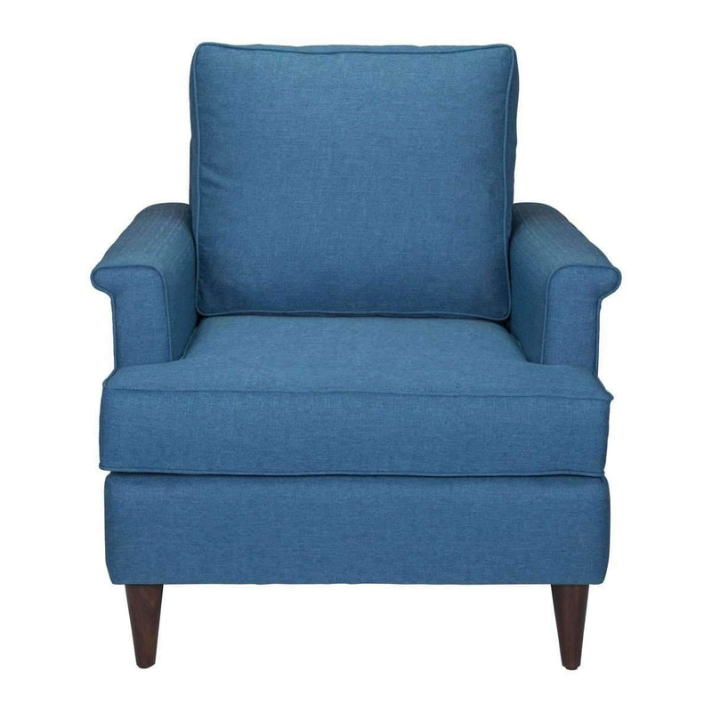 Modern Campbell Arm Chair Blue: Living Room Furniture- Shop MIXXCI