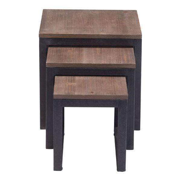 Modern Civic Center Nesting Tables: Living Room Furniture- Shop MIXXCI