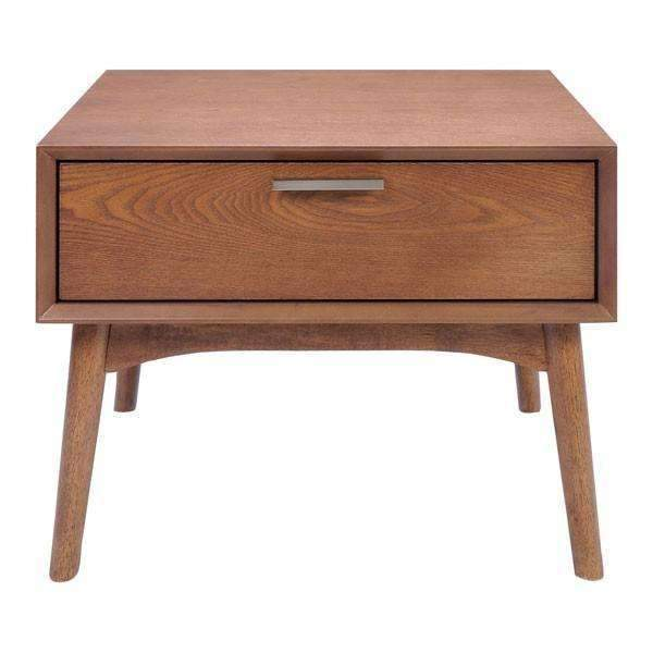 Modern Design District Side Table Walnut: Living Room Furniture- Shop MIXXCI