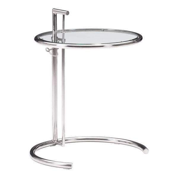 Modern Eileen Grey Table Chrome, Default Title: Living Room Furniture- Shop MIXXCI
