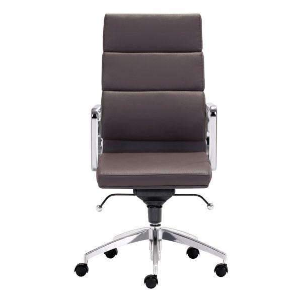 Modern Engineer High Back Office Chair Espresso: Living Room Furniture- Shop MIXXCI