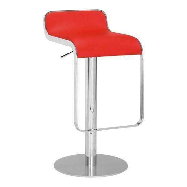 Modern Equino Barstool Red, Default Title: Living Room Furniture- Shop MIXXCI