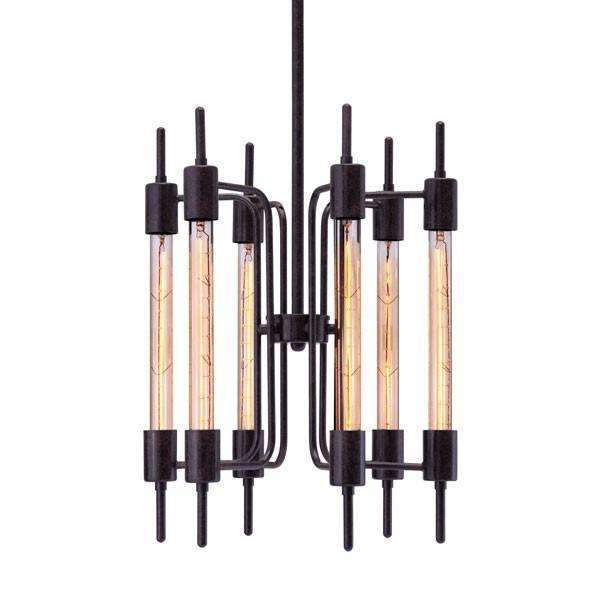 Modern Gisborne Ceiling Lamp Distressed Black, Default Title: Living Room Furniture- Shop MIXXCI