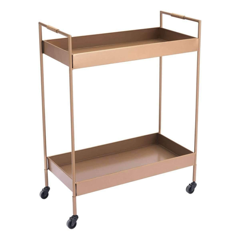 Modern Gold Bar Cart Gold, Default Title: Living Room Furniture- Shop MIXXCI