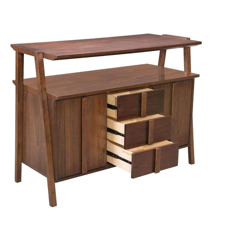 Modern Graham Buffet Walnut: Living Room Furniture- Shop MIXXCI