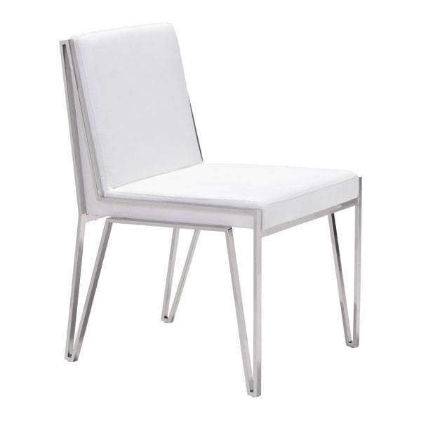 Modern Kylo Dining Chair White (Set of 2), Default Title: Living Room Furniture- Shop MIXXCI