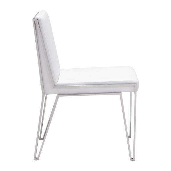 Modern Kylo Dining Chair White (Set of 2): Living Room Furniture- Shop MIXXCI