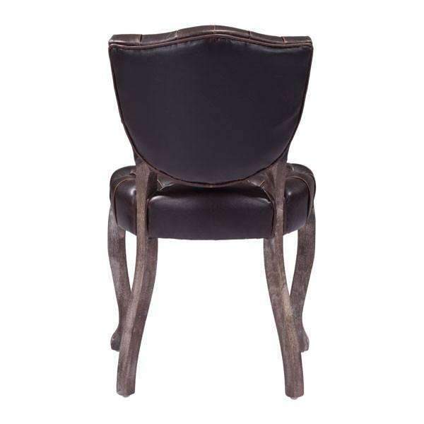 Modern Leavenworth Dining Chair Brown (Set of 2): Living Room Furniture- Shop MIXXCI