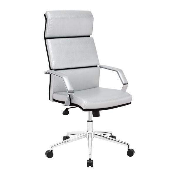 Modern Lider Pro Office Chair Silver, Default Title: Living Room Furniture- Shop MIXXCI