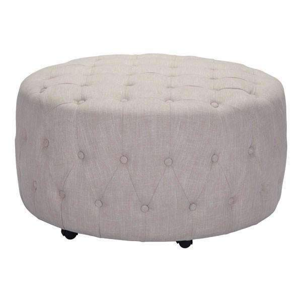 Modern Neal Ottoman Beige: Living Room Furniture- Shop MIXXCI