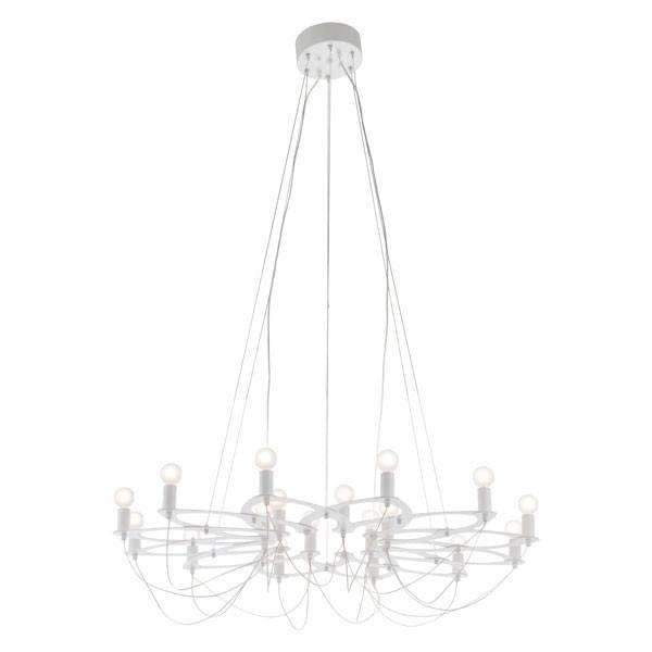 Modern Scala Ceiling Lamp White, Default Title: Living Room Furniture- Shop MIXXCI