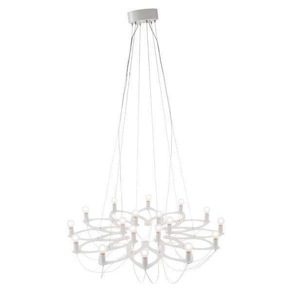 Modern Scala Ceiling Lamp White: Living Room Furniture- Shop MIXXCI