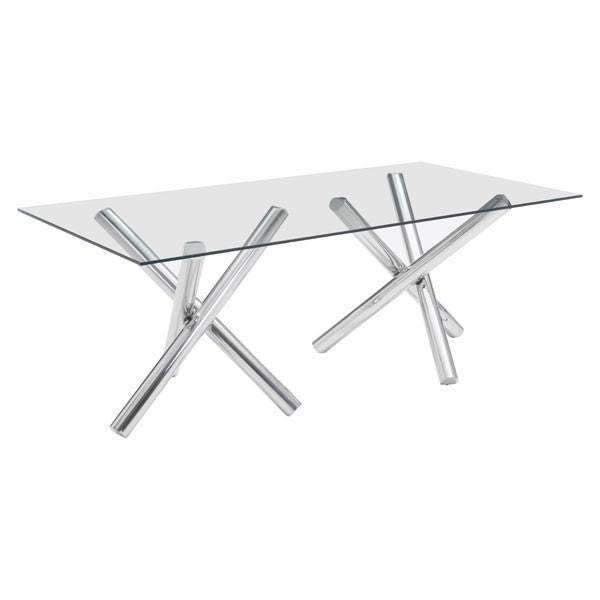 Modern Stant Rectangular Dining Table, Default Title: Living Room Furniture- Shop MIXXCI