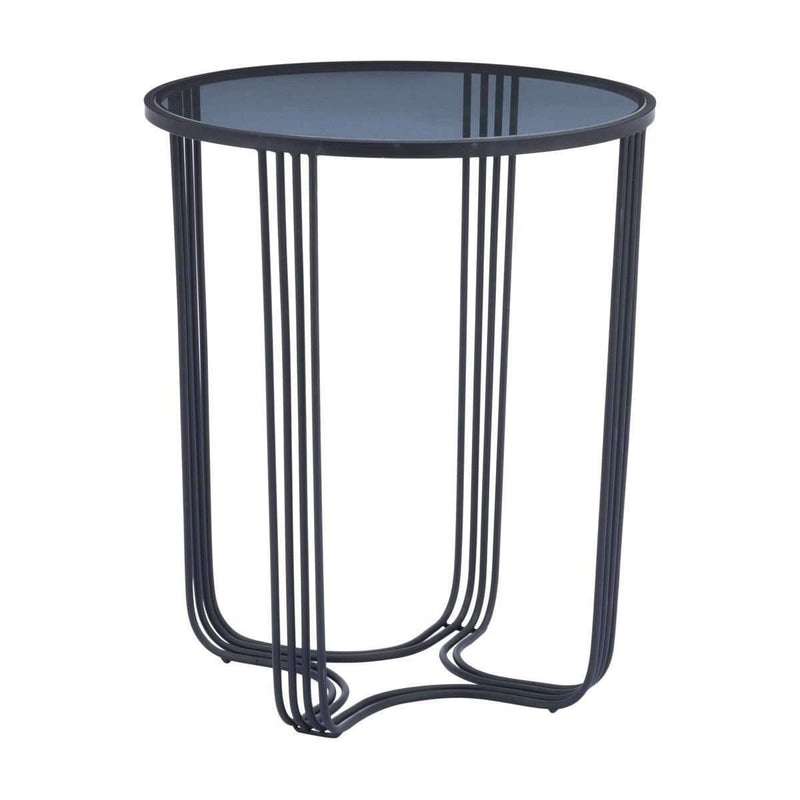 Modern Tempo End Table Black, Default Title: Living Room Furniture- Shop MIXXCI