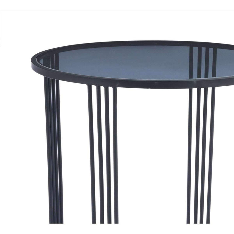 Modern Tempo End Table Black: Living Room Furniture- Shop MIXXCI