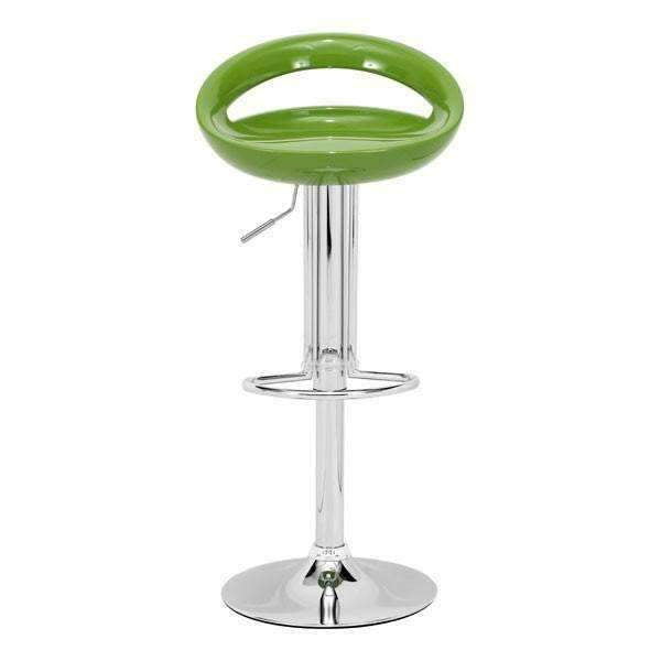 Modern Tickle Barstool Green: Living Room Furniture- Shop MIXXCI