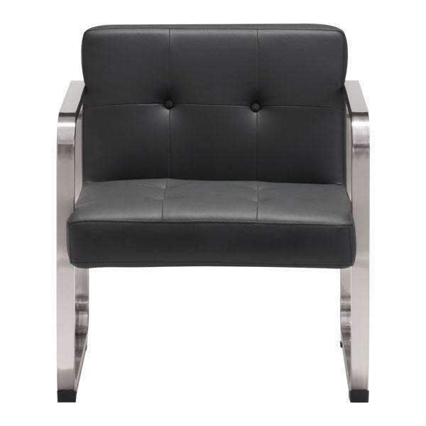 Modern Varietal Arm Chair Black: Living Room Furniture- Shop MIXXCI