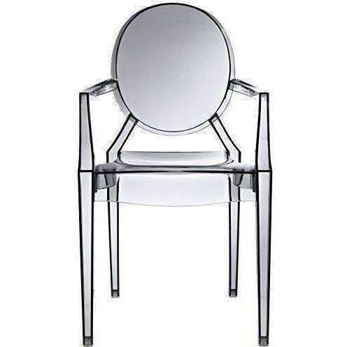 Modway Casper Dining Armchair In Smoke: Kitchen & Dining- Shop MIXXCI