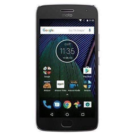 Moto G Plus (5Th Generation) - Lunar Gray - 64 Gb - Unlocked - Prime Exclusive - With Lockscreen Offers & Ads: Cell Phones- Shop MIXXCI
