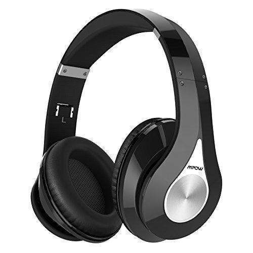Mpow 059 Bluetooth Headphones Over Ear, Hi-Fi Stereo Wireless Headset, Foldable, Soft Memory-Protein Earmuffs, W/ Built-In Mic And Wired Mode For Pc/ Cell Phones/ Tv: Audio Headphones- Shop MIXXCI