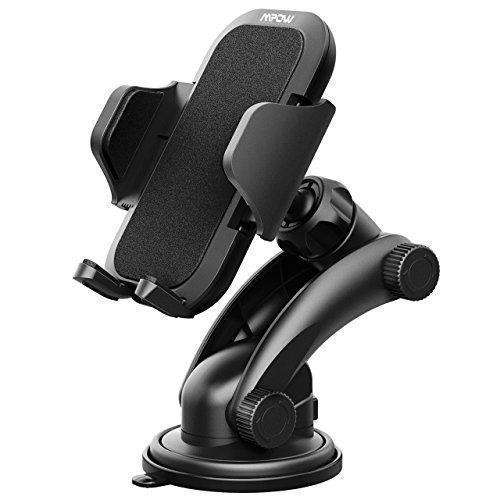Mpow Car Mount Holder, Universal Dashboard Car Phone Mount Holder /w One-Touch Design&Washable Strong Sticky Gel Pad for iPhone X/8/8Plus7/7P/6s/6P/5S, Galaxy S5/S6/S7/S8, Google, LG, Huawei and etc: Automotive Interior Accessories- Shop MIXXCI