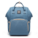 Multi-Functional Fashion Mommy Bag, Blue: Bags- Shop MIXXCI