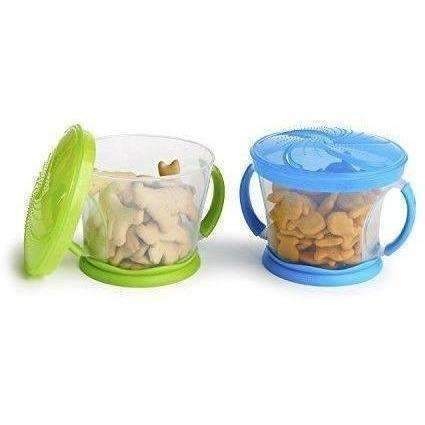 Munchkin 2 Piece Snack Catcher, Blue/Green: New- Shop MIXXCI